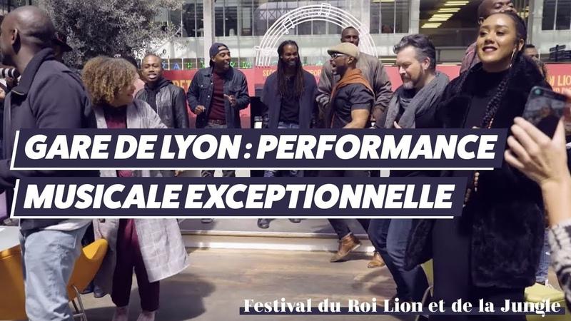 Quand Le Festival du Roi Lion et de la Jungle s'invite à la Gare de Lyon…