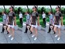 DanDan và chú Yang Yunpeng chuẩn bị cho cuộc thi vũ điệu shuffle dance Strolling Plaza Dance