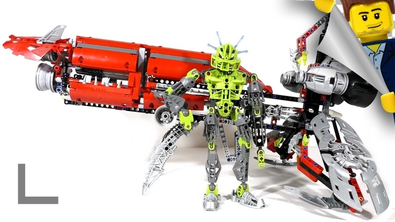 Обзор набора Lego Bionicle 8943 Аксалара Т9 (Axalara T9)