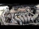 Toyota Corolla E150 работа ДВС