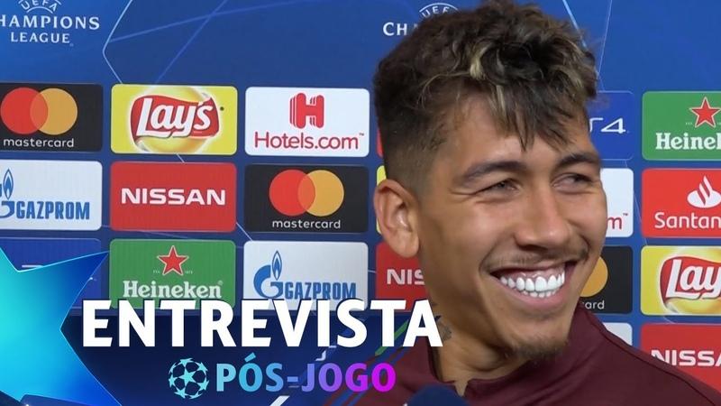 FIRMINO NÃO RESPONDE POR QUE FICOU NO BANCO | Porto 1x4 Liverpool