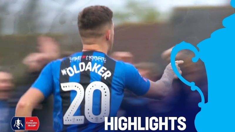 Oldaker Scores Wonder Goal! | Slough 0-1 Gillingham | R2 | Emirates FA Cup 18/19