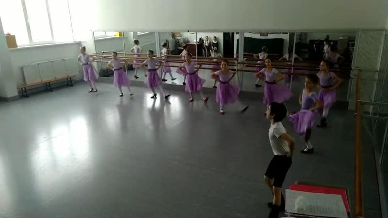 Экзамен Народный танец 4