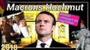 Macrons Hochmut Macrons Fall UN Migrationspakt