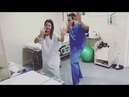 Doctor helps women through labor by dancing with them in hilarious videos
