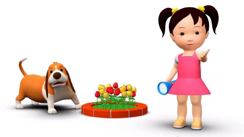 Английский язык для малышей: Мяу-Мяу - Red, Yellow, Green - Мультик 7
