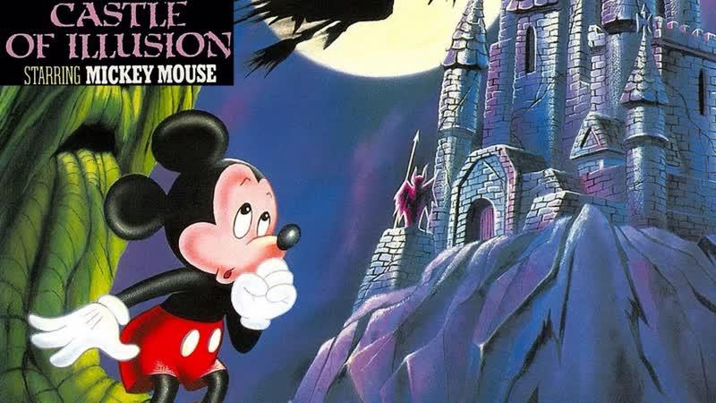 Castle of Illusion starring Mickey Mouse Прохождение (Sega Rus) - (aneka.scriptscraft.com) 720p