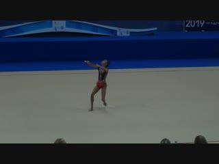 Софья Агафонова - булавы (финал) // Первенство России, Казань