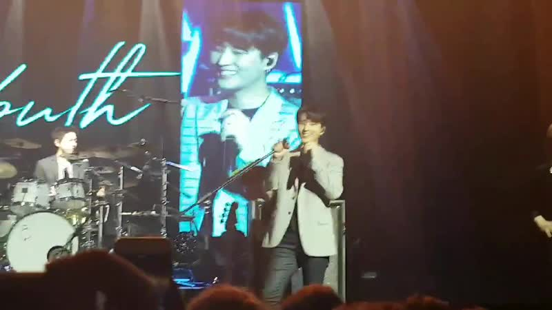 190120 DAY6 WORLD TOUR in Madrid Sungjin's solo