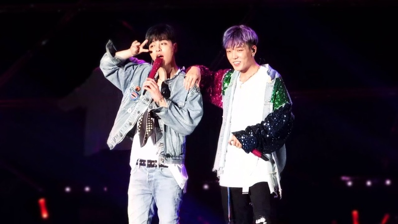 180818 아이콘 CONTINUE CONCERT IN SEOUL BEST FRIEND 구준회 바비 포커스 (JUNE, BOBBY Focus)