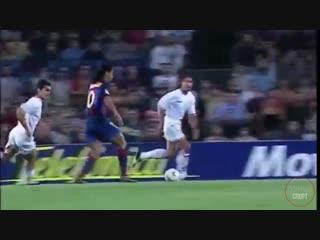 Ла Лига 2003/2004 гг. «Барселона» (Испания) - «Севилья» (Испания) гол Роналдиньо