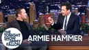 Armie Hammer Is Total BFFs with Justice Ruth Bader Ginsburg