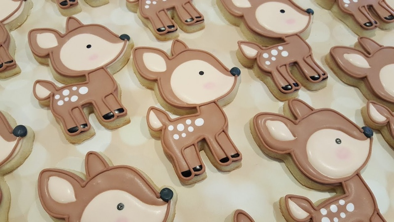 Deer Sugar Cookies on Kookievision by Sweethart Baking Experiment