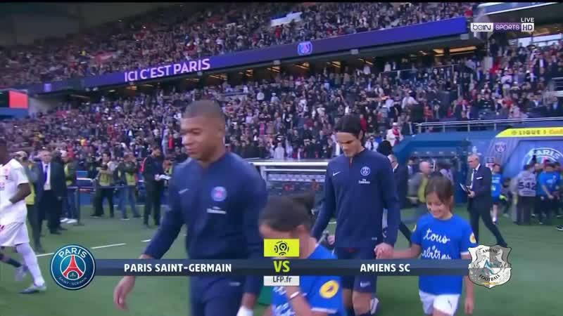 Франция Лига 1 ПСЖ - Амьен 5:0 обзор 20.10.2018 HD