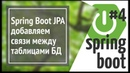 Spring Boot Jpa Hibernate добавляем связи между таблицами базы данных one to many