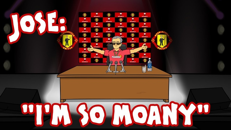 😔Mourinho: I'M SO MOANY!😔 (Jose Mourinho Parody Song)
