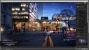 Photoshop architecture rendering tutorial : night seane 2