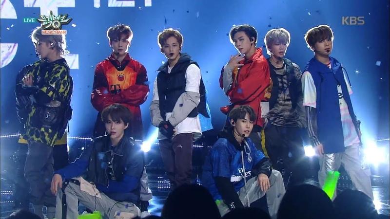 NCT 127 엔시티 127 'Simon Says' KBS MUSIC BANK 2018.12.14