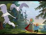 Гуси-лебеди, мультфильм, 1949 г. СССР