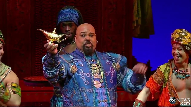 ALADDIN (Broadway) - Arabian Nights [LIVE @ GMA]