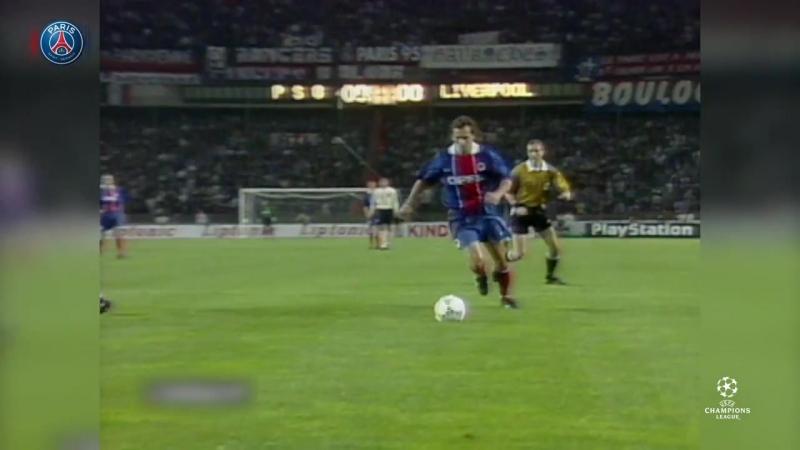 Кубок обладателей кубков 1996/1997 | ПСЖ - Ливерпуль | полуфинал