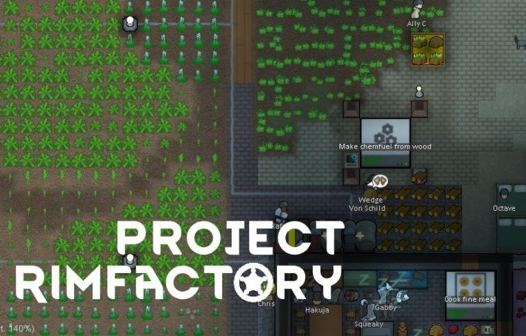 Проект RimFactory для Rimworld