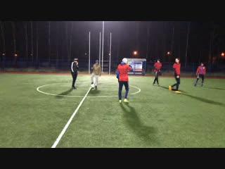 Финальный матч турнира на стадионе «Водник». Роквул-Шторм.