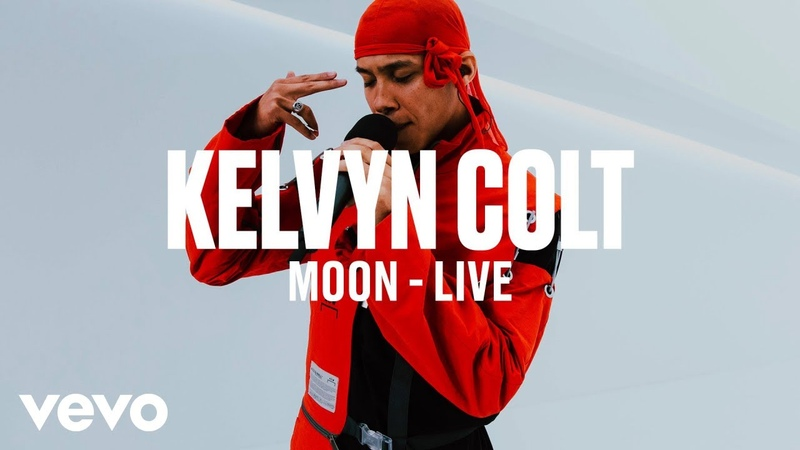 Kelvyn Colt - Moon (Live) | Vevo DSCVR ARTISTS TO WATCH 2019