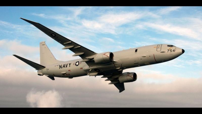 Военные США опубликовали запись перехвата своего самолета над Черным морем