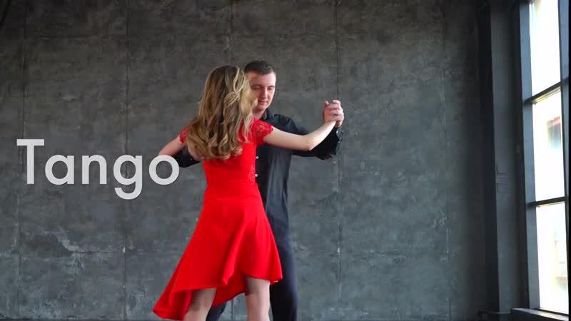 [Tango Demo] Yaroslav Chernickii and Smagina Elena in Ipanema Dance Studio