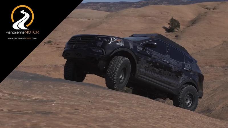 Hyundai Santa Fe Sport Rockstar Energy Moab Concept SEMA 2017