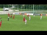 10 Фернандо бьет. Рикошет и мяч залетает в нижний угол (29`)