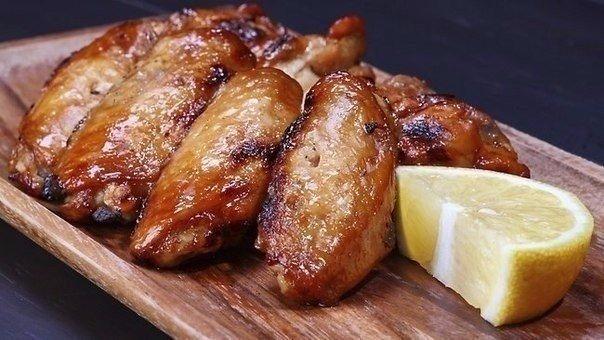 Готовим куриные крылышки - 10 рецептов