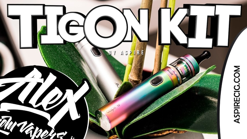 Tigon MTL DL Kit l by Aspire l Alex VapersMD review 🚭🔞