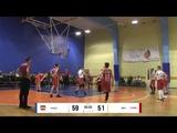 BBBL boys U14 Arsenal Tula 2005 vs I.Miglinieka sporta skola 2005