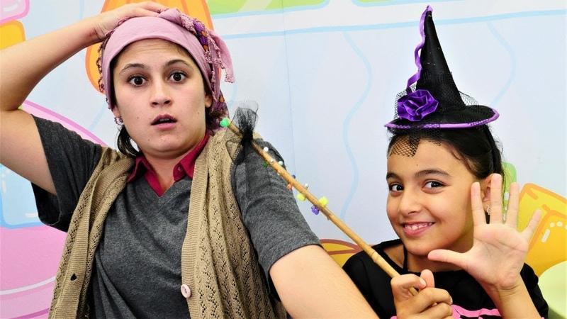 Cadı Emily ve Reyhan Abla ile komik video!