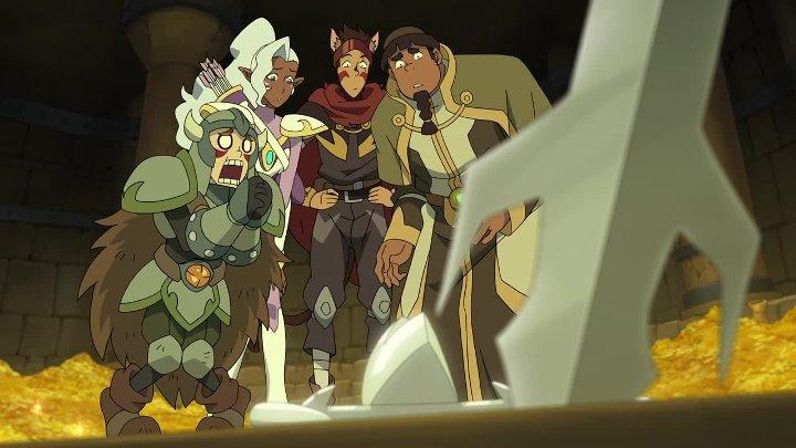 AniDub 03 серия Вольтрон Легендарный защитник 6 Voltron Legendary Defender 6 Azazel Inferno Phantom Eve