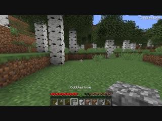 НУБ ПОСТРОИЛ ДОМ ПОД ПЕЧКОЙ В Майнкрафте! Minecraft Мультики Майнкрафт троллинг Нуб и Про