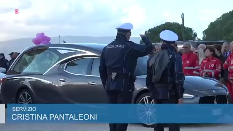 Cisterna di Latina, laddio a Desirée Mariottini con pallonc
