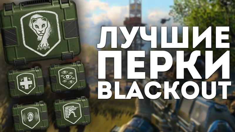 ПЕРКИ БЕТЫ BLACKOUT – КОРОЛЕВСКАЯ БИТВА CALL OF DUTY: BLACK OPS 4