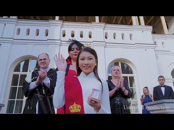 1st Chevalier of the Golden Order Madame Ngoc Lan Vy was Knighted in Mukhrani Palace