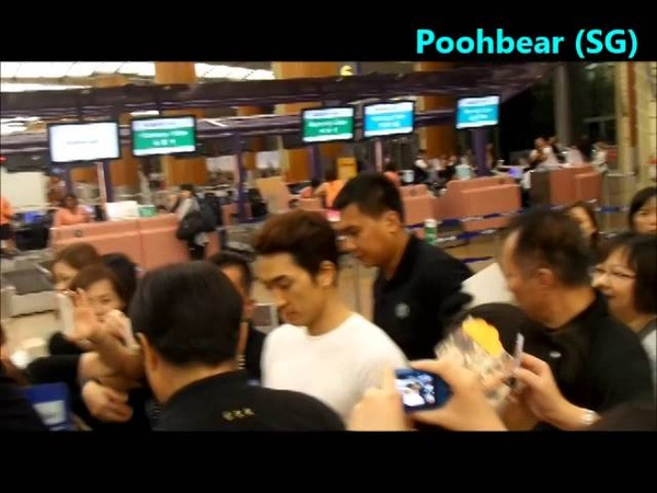Song Seung Heon Departure @ Singapore Airport Walking together with Oppa 140726