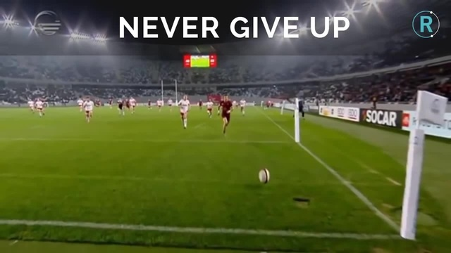 NEVER GIVE UP! Soso Matiashvili's Incredible Try V Canada