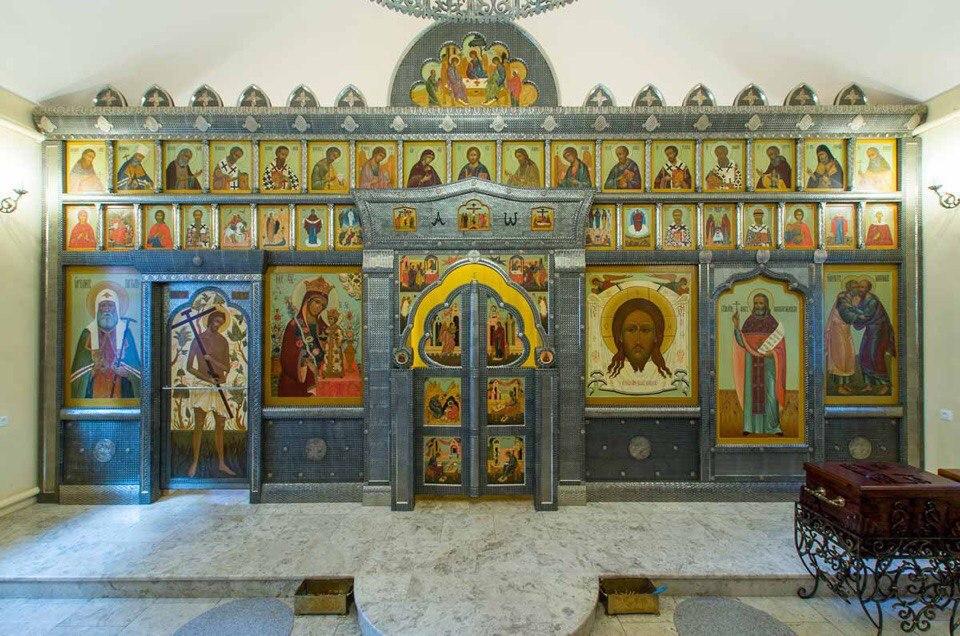 Иерейская служба пройдет в храме недалеко от Савеловского