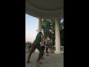А с вами снова - танцы в Александровском саду