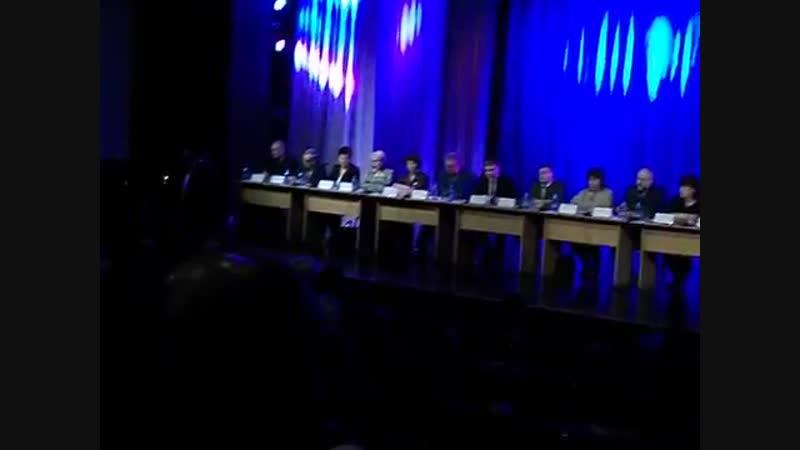 Фрагмент встречи с главой Хакасии в Черногорске 18.01.2019