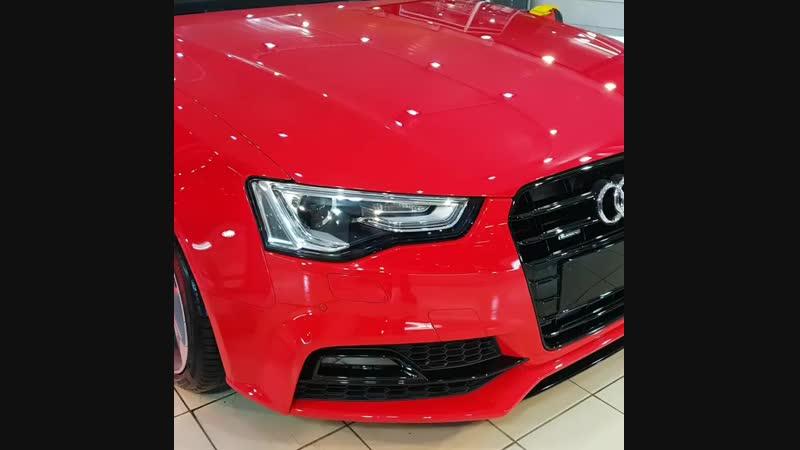 Audi A5 покрыт Ceramic Pro 9H в 4 слоя