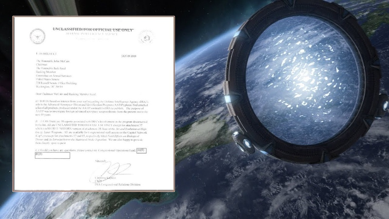 Stargates and Warp Drives: New Docs Shed Light on Secret US UFO Research Project