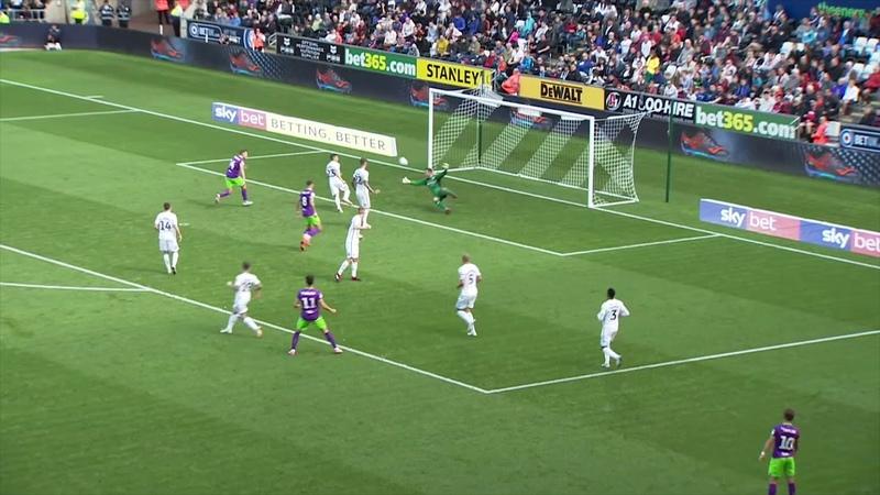Highlights Swansea City 0-1 Bristol City