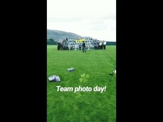 Team photo day 🍀